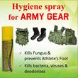 Delta Nano Foot Hygiene spray. Prevent foot fungus athletes foot. Hygiene spray for army gear. Kill virus. Kill bacteria. Deodorize. Remove ordor.