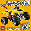 [LEGO] 2014 New! Creator 3 in 1 Best Hits Big Discount Upto 30%