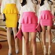 ♥Only Today Big Sale 30%↓/ New design Added/ Blossom Skirt-Specialized Fabric/ Peplum Skirt/ vivid Skirt
