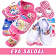 ★EVA Sandles / Inner Shoes 9Type★Brand Official Licenses Slipper sandals shoes house shoes hello kitty fairies pororo Disney frozen sofia poli thomas princess larva rilakkuma