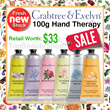 #beautysale [ CNY Sales! ] 40% OFF Crabtree and Evelyn Hand Therapy cream 100g Worth $33!