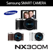 SAMSUNG NX300M + 18-55mm / WITH 180 DEGREE TILTING LCD / Wi-Fi / Self Shot / Dual Band