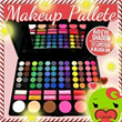 Makeup Pallete 78colour 60 eyeshadow|12lipstick|6blushon