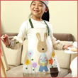 ★Kids Apron★100% cotton waterproof apron.Lovely Apron!! High Quality