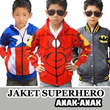 [KIDS JACKET] ★Jaket Superhero★ [Captain America-Superman-Ironman]