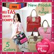 [FREE DOMPET] Tas Wanita 3 Fungsi_Sling Bag/Backpack/Shoulder bag_Kualitas Terbaik! GRATIS DOMPET!!