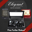 [TIME PARTNER] Elegant and Luxurious Watch Winder [2+3 Single Motor / 4+6 Dual].