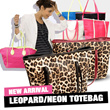 Imported Bag_QUINCYLABEL Leopard Totebag_Neon Totebag_Luggage Totebag_Croco Totebag_4Style/Tas Wanita/Shoulder bag/Good Quality