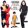 【Quality 35 DESGIN FAST SHIPPING】2014 Winter Thermal Inner Wear(Thick)0 to -35 degree celsius/LEGGINS Couple Warm Clothing Innerwear Unisex Underw