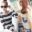 LS2 [Korea best product] loose / box / One Piece Long T-shirt / stingray / hood / mtm