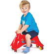 Whirlee Ride On with 360 degree rotation wheels
