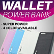 [FREE SHIPPING] 20000mAh Wallet Power Bank