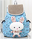 FREE SHIPPING! Cute bow Women Backpack Canvas Shoulder Bag School Students College Wind Travel Bags XBG061