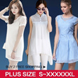 [BUY 2 FREE SHIPPING] 27/07 UPDATE! Plus Size Dress Blouse Work Dress Code Korean Style UK style