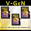 [VGEN] VGeN Memory Card - MICRO SD CLASS 10 8GB-64GB *TOP BRAND*