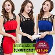2014 NEW ARRIVAL lace dress/OL dress/big size