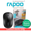 Bestselling 100% Authentic RAPOO wireless mouse M10/ mice / 2.4GHz laptop Wireless Mouse / By IDEAS FOR LIFE