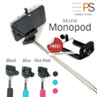Monopod FREE Mobile Phone Holder ! Bluetooth Shutter Control Selfie Pod iPhone 5C 5S 4S Galaxy S3 S4 S5 Note 2 3 SLR Camera
