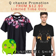 ✿INSTOCK✿ 2014 New Fashion T-shirt/Casual T-shirt/Couple T-shirt/Printed T-shirt/High-Quality/Fast Delivery