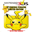 ONE FREE GAME! 3DS XL Console Pikachu Limited Edition