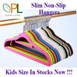 Big Sales ! Magic Velvet Clothes Hanger - Non-Slip 30/50p Clothes Hanger Kids Hangers Available Too!