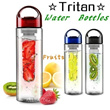 ☆Tritan☆2014 NEW [Fruits Water Bottles]Portable Fruit Infuser Water Bottle/ Portable tea bottle/ Sports water bottle.(Buy 3,Pay 1 Shipping Fees Only)