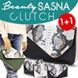 [1+1]Beautiful Clutch Sasna/tas wanita/clutch bag/wallet/sling bag # 8_Warna