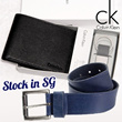 [CK] Calvin Klein wallets and belt for Men /100% Authentic/stock in SG