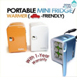 [Stylux]JY4AD/ 4-Litre Mini Fridge - Portable / Car Use / Home Use - 1 Year Local Warranty