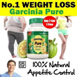 [Buy 2 FREE 1*] NO.1 WEIGHT LOSS BY Dr Oz - Garcinia Cambogia 100% Pure HCA Made in UK - Original Fat Burning and Hunger Control Supplement