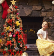 ★Merry Christmas★1.5 Meter Maggi Christmas Tree with Entire Decoration (★100 deco items★) Blinking LED Light Ribbon Snowman Fiber Optic Trees All in 1 Christmas tree