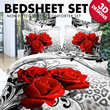 ★[ MEGA SALE ]Only $48.00 instead of $69.00 for 100% Cotton 3D Bed-sheet (Fits Most Sizes)/3D BED SHEETS/100% COTTON/QUALITY BEDSHEET/QUEEN SIZE/KING SIZE/SINGLE SIZE/NON FITTED BEDSHEET ★