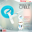 [Malaysia Seller - BarangAsia.com] 22cm / 1m Magnetic USB cable support iOS 8 iPhone 5 iPhone 6 Samsung Note 4 HTC Huawei Mi 3 Redmi Redmi Note