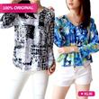 Buy1Get1+FREE ONGKIR*!PART 5 **Pattern Blus-branded-high quality**/Pattern Blouse/Blus Corak/Baju Wanita