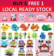 ▌▌♥♥ Nanoblock Promo ♥♥▌Local Seller ♥Pokemon♥ Minion ♥Kitty♥Melody♥Mario♥Yoshi♥Mike♥James♥Optimus♥