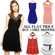 ★[ALL FLAT PRICE] ★ Korean Dress T-Shirts Blouse★ Buy 3 Free Shipping