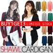 BUY 1 GET 3!! CRAZY SALE! ★ Korean Fashion Shawl Cardigan / XXXL Big Size / XXXL / Spandex /Office Look / Ready Stock