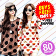 ♥ LuvClo ~ Best Seller Korean Oversize Long Sleeve Top (80 Design)