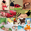 ★New Arrival★Baby Girls Boys Knit Woven Hat/Beanies/Costume For Photography Shoot