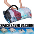 Space saving storage vacuum bag