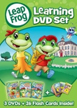 Leapfrog Learning DVD Vol 1 / Vol 2 / 3-DVD Collection