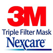 3M Nexcare triple filter mask N95 3M 9010/ Haze killer / Haze