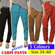 5 Colours Womens Carpi Pants (Size 34-40)-Shorts Bottoms-MMS95