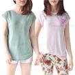 Branded Premium cotton lace shoulder tees**Part15**