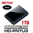 MiniStation Plus HD-PNTU3 1TB External Hard Disk Drive / USB3.0 Plus TurboPC / External Harddisk