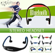 ▶New Sports Bluetooth Stereo Headset◀GDC-True Freedom For Music and Telephone Conversation/Sportive look and Ergonomic design/ 2 styles are available