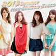 2013 New Korean Fashion Womens Chiffon Dress 20 styles/Beach Dress Free Shipping★Hight Quality