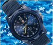 2014 Solider Military Army Mens Sport Wathces Style Canvas Fabric Belt Luminous Quartz Wrist Watch 154