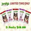 JerHigh Pet Treats - 5 Packs Promotion! Choose from Chicken Stick and Cookie