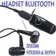 HEADSET BLUETOOTH HM3500 MONO AND STEREO (Hitam saja)